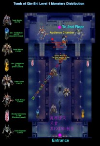 Monstermap Ch'in Tomb